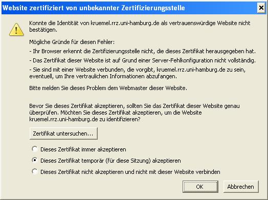 Server-Zertifikat installieren : Hilfe für Administratoren ...